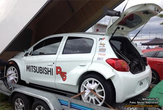 Illustration for article titled Mitsubishi returning to Rally?