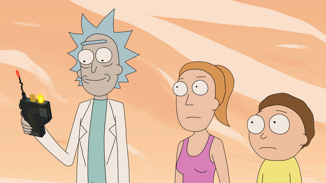 Hey *bwarp* nerds, there's an official Rick And Morty D&D set on the way
