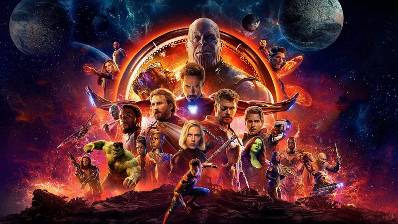 Avengers: Infinity War is available in your home right now.