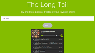 Illustration for article titled The Long Tail Finds an Artist's Least Popular Songs on Spotify