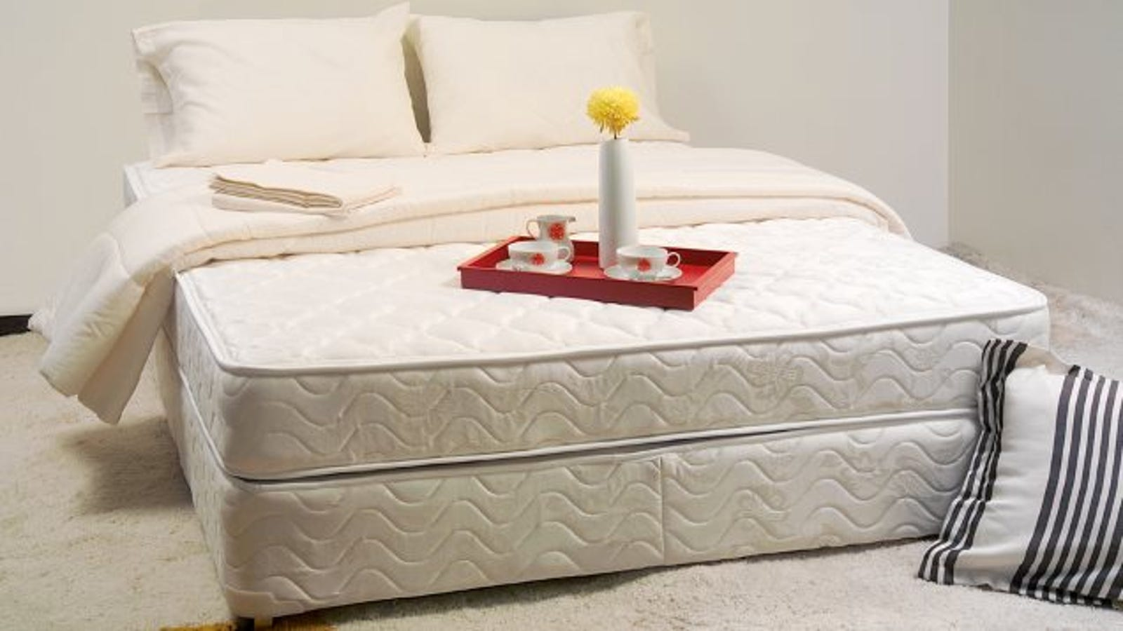 deep clean your mattress with hydrogen peroxide soap and salt