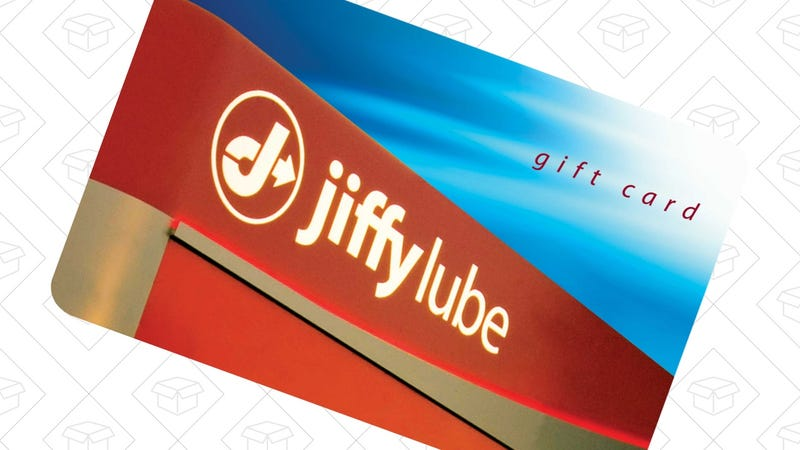 $50 Jiffy Lube Gift Card, $40
