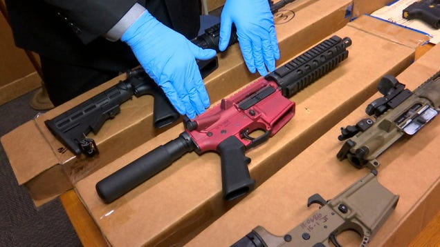 City of LA Sues Firearms Company That Allegedly Shipped Untraceable Gun Kits Everywhere