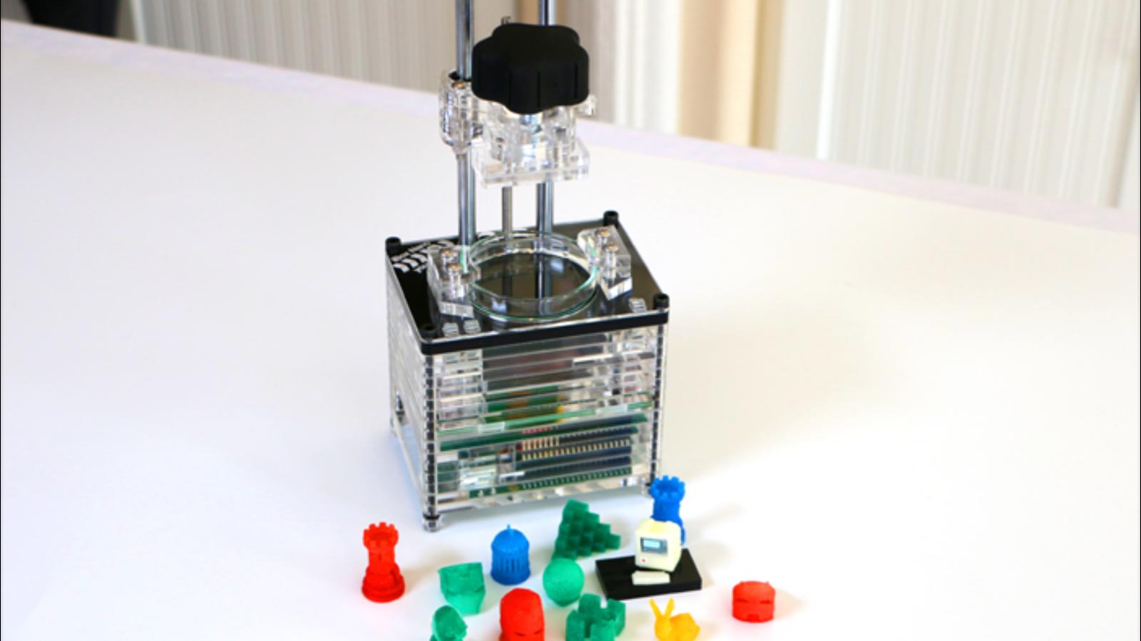 Esta impresora 3D promete ser la más pequeña y barata: $299