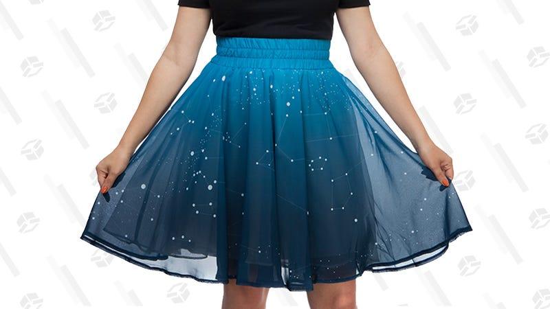 Twinkling Stars Skirt | $10 | ThinkGeek