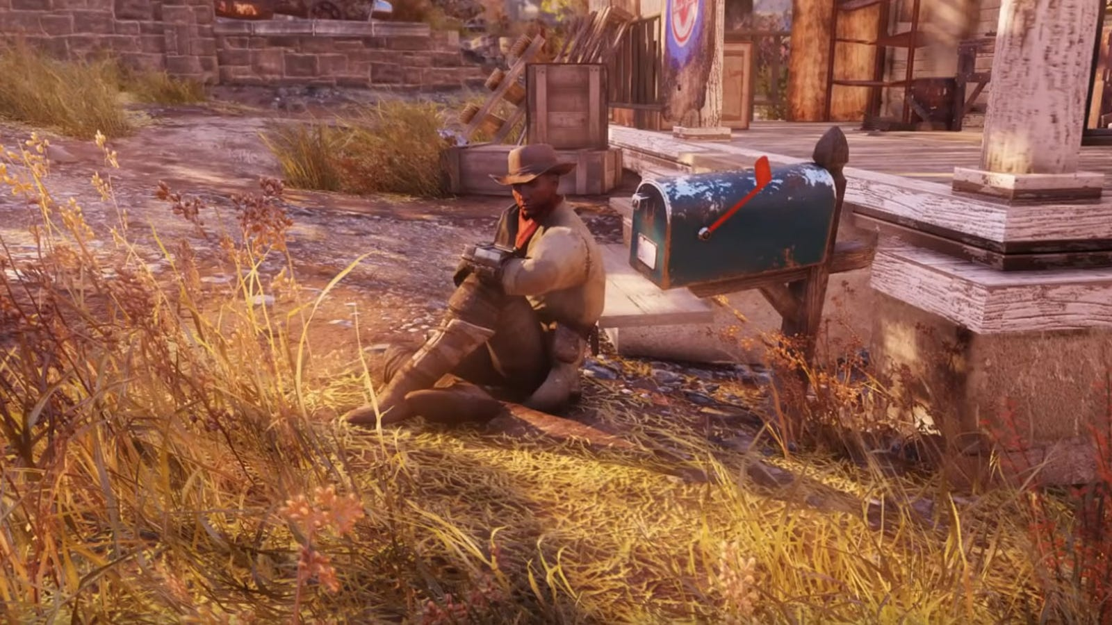 Guy Is Role-Playing As Preston Garvey In Fallout 76 - Kotaku