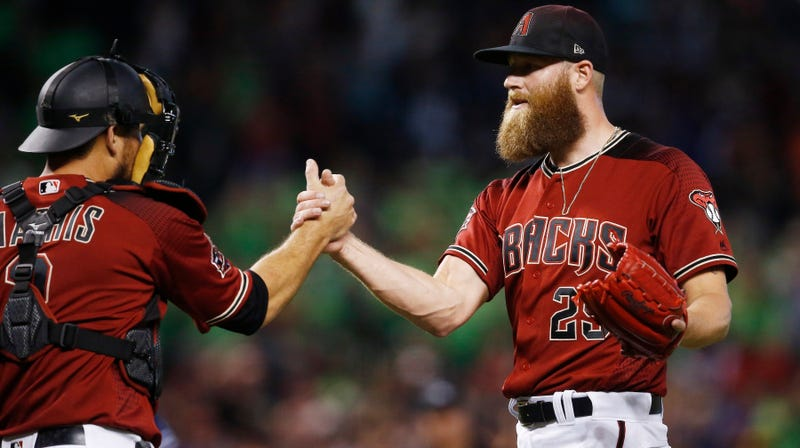 Illustration for article titled Diamondbacks Reliever Archie Bradley Bravely Admits He Shit His Pants Before Entering A Game This Season