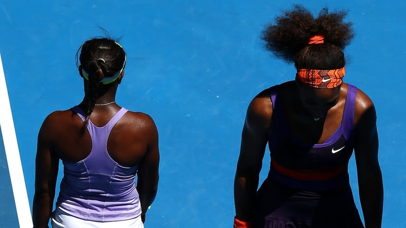 Illustration for article titled So, Sloane Stephens And Serena Williams Really Aren't Friends