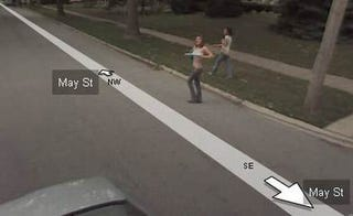 Illustration for article titled Google Streetview, Now Mapping Boobs