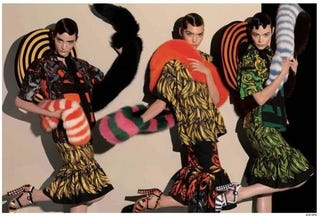 Illustration for article titled Prada Goes Into Overdrive To Control Leaked Images Of Spring Campaign