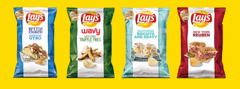"Illustration for article titled The Lays ""Do Us a Flavor"" Finalists This Year Are Hot Garbage"
