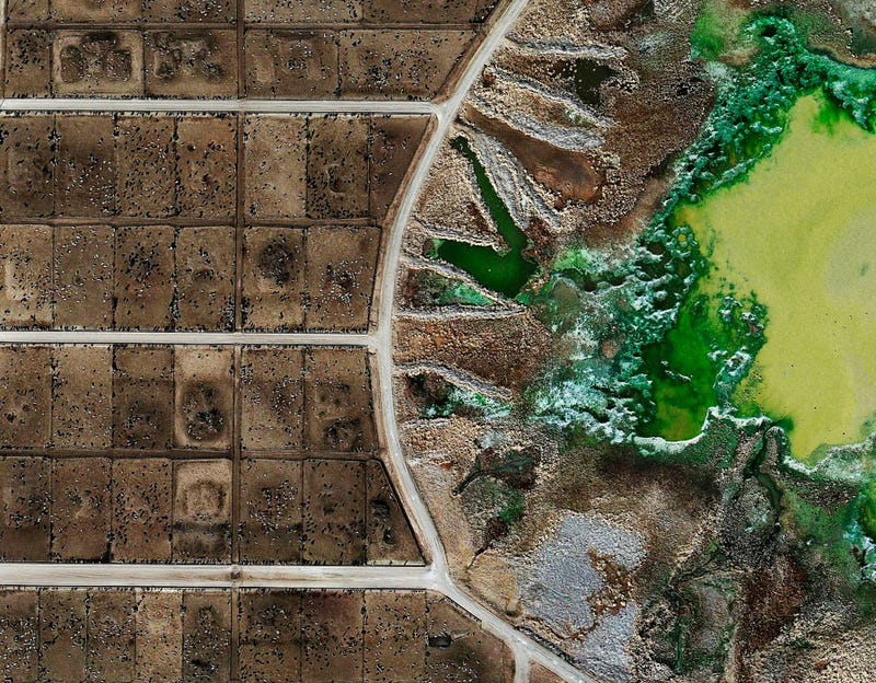 Illustration for article titled Satellite images show how factory farms alter our landscape