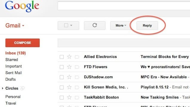 how to bulk delete on gmail