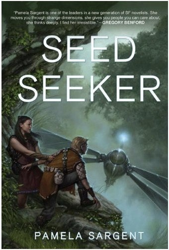 """Illustration for article titled In """"Seed Seeker,"""" teens from an Earth colony meet their maker"""