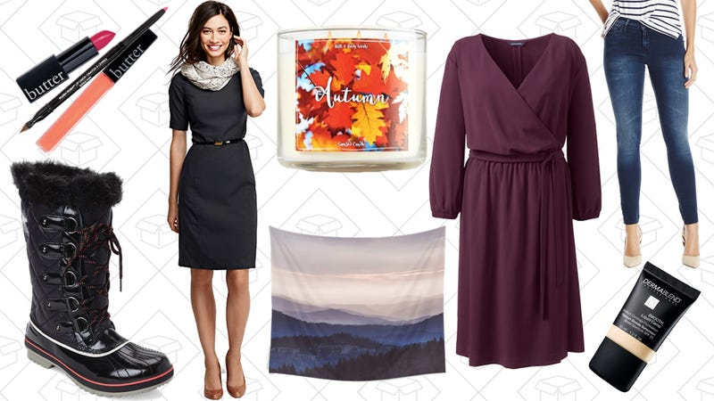 Illustration for article titled Today's Best Lifestyle Deals: Lands' End, Sorel, Bath and Body Works, Society6, and More
