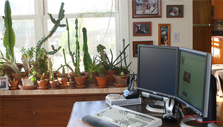 Illustration for article titled Coolest Workspace Contest: The home-integrated office
