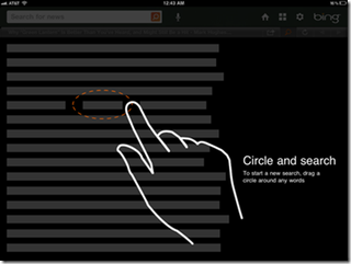 Illustration for article titled Bing for iPad Lets You Search Without Even Typing