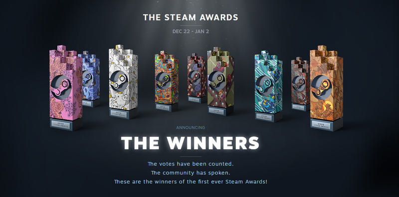 Illustration for article titled Here Are The 2016 Winners Of The First Ever Steam Awards