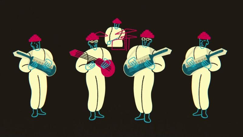 Illustration for article titled Mark Mothersbaugh explains the origins of Devo in a charming animated short