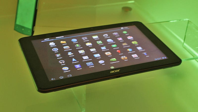 Illustration for article titled Acer Iconia Tab Hands On: One Tasty Ice Cream Sandwich