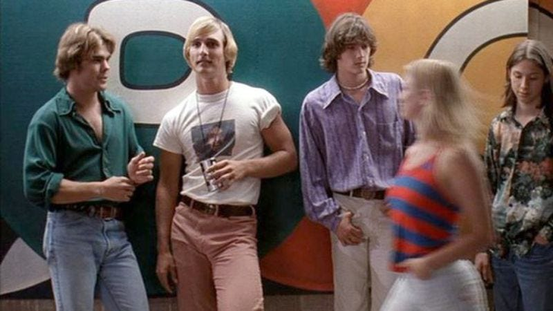 """Illustration for article titled Richard Linklater hopes to begin filming the """"spiritual sequel"""" to Dazed And Confused this fall"""