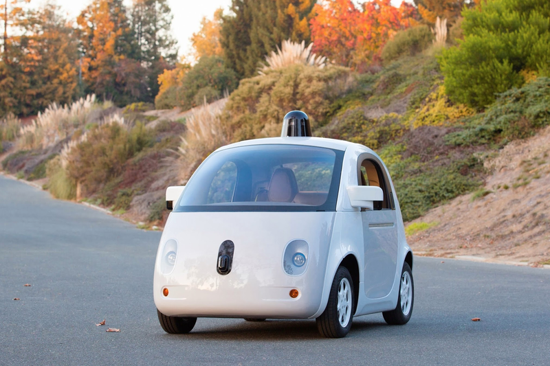 Illustration for article titled Here's Google's First Fully Functional Self-Driving Car Prototype