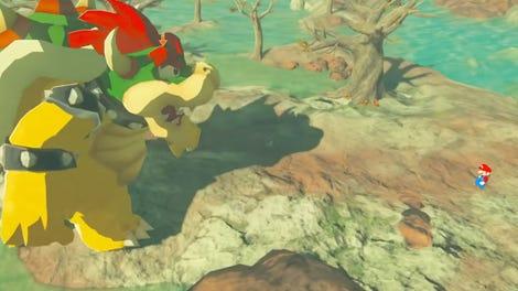 Legend Of Zelda: Breath of the Wild Looks Weirdly Gritty