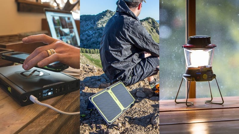 Goal Zero's Labor Day Sales Include Batteries, Solar Chargers, and Camp Lighting