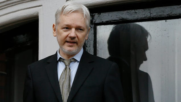 Julian Assange Tries to Save Net Neutrality With Rambling Appeal to Trump s Paranoia