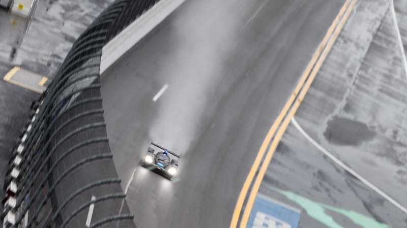 Illustration for article titled 24 Hours of Daytona Ends Under Red Flag Conditions, WTR Cadillac Wins