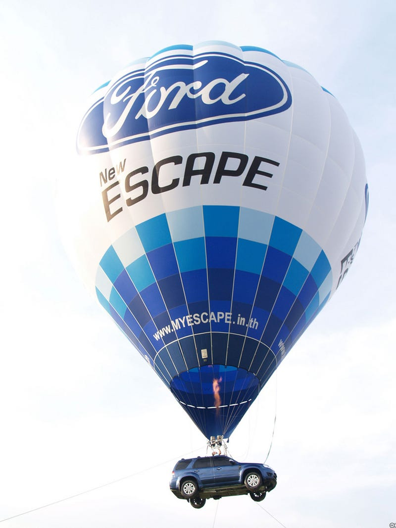 Illustration for article titled A Different Kind Of Escape Hybrid