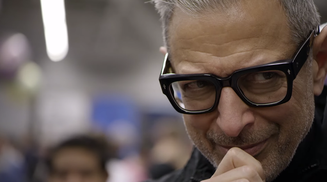 How much shit can Jeff Goldblum be fascinated by in the span of a 2-minute trailer?