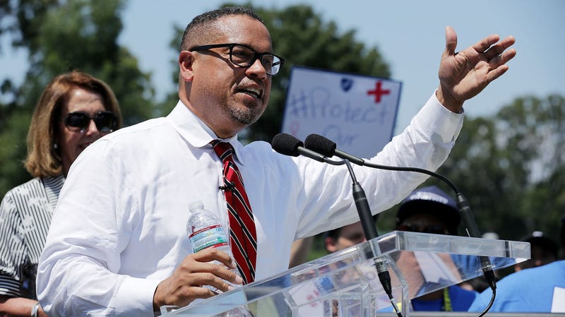 Illustration for article titled Keith Ellison Wins Democratic Primary Despite Abuse Allegations