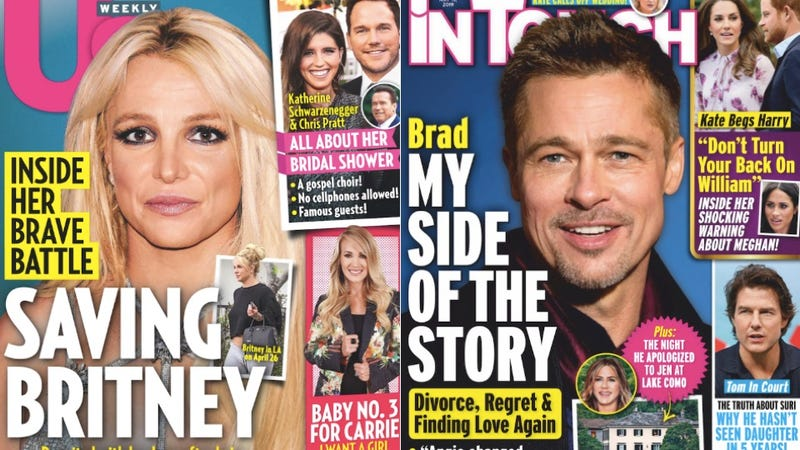 Illustration for article titled This Week In Tabloids: #FreeBritney Isn't an Illuminati Conspiracy. It's a Capitalist Tragedy!