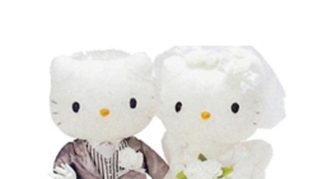hello kitty wedding gowns for the childish bride auto