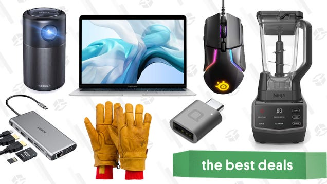 Wednesday s Best Deals: MacBook Air, Ninja Blender, Give r Gloves, and More