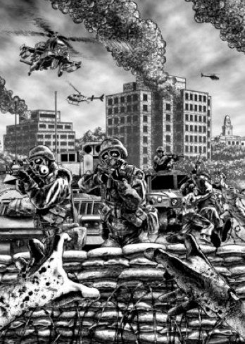 Illustration for article titled Will Warner Brothers' futuristic terrorism film World War X, film before World War Z?