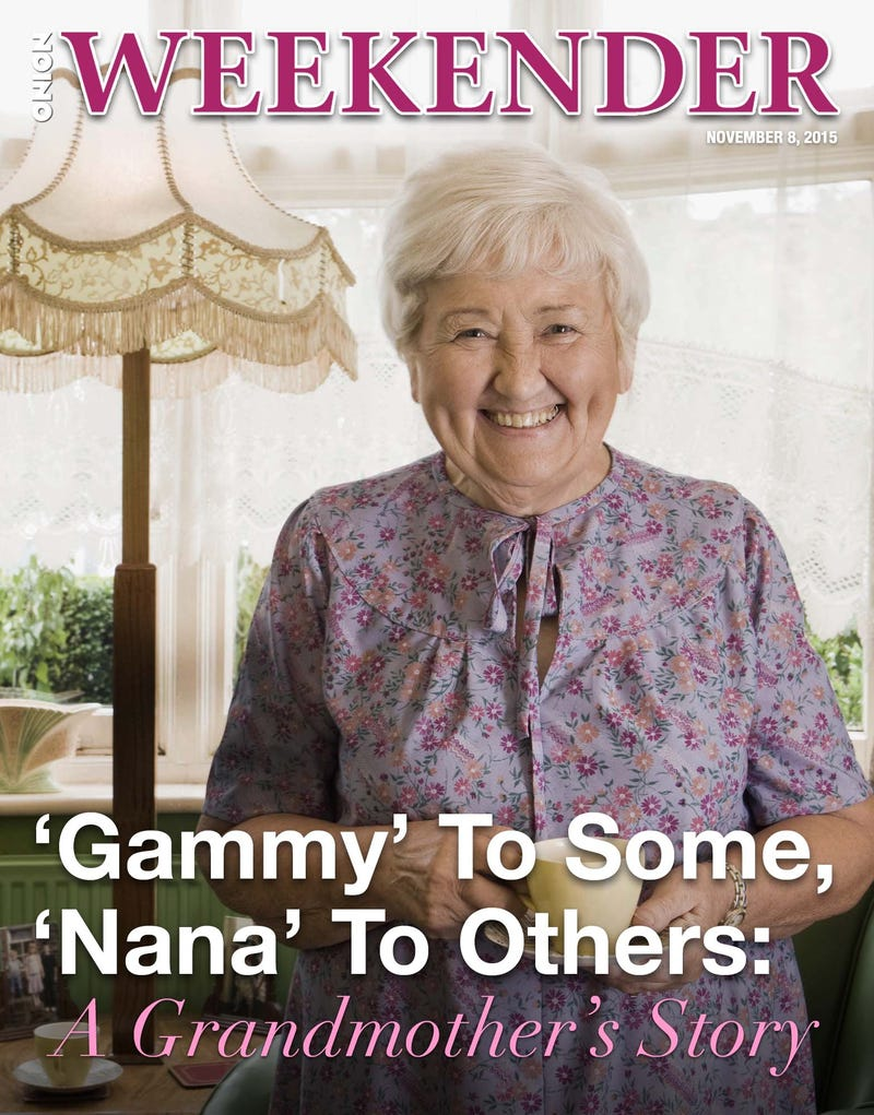 Illustration for article titled 'Gammy' To Some, 'Nana' To Others: A Grandmother's Story