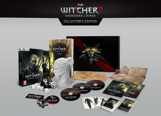 Illustration for article titled The Witcher 2 Collector's Edition Comes To A Head