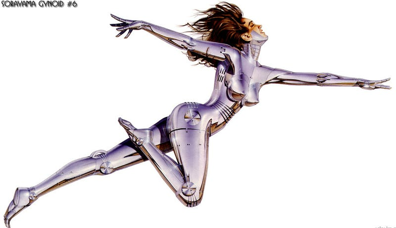 Illustration for article titled The Singularity is Sexy: The Loveliest Robot and Cyborg Art [NSFW]