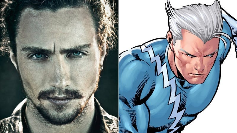 Illustration for article titled And Aaron Taylor-Johnson is the official Quicksilver of Avengers 2