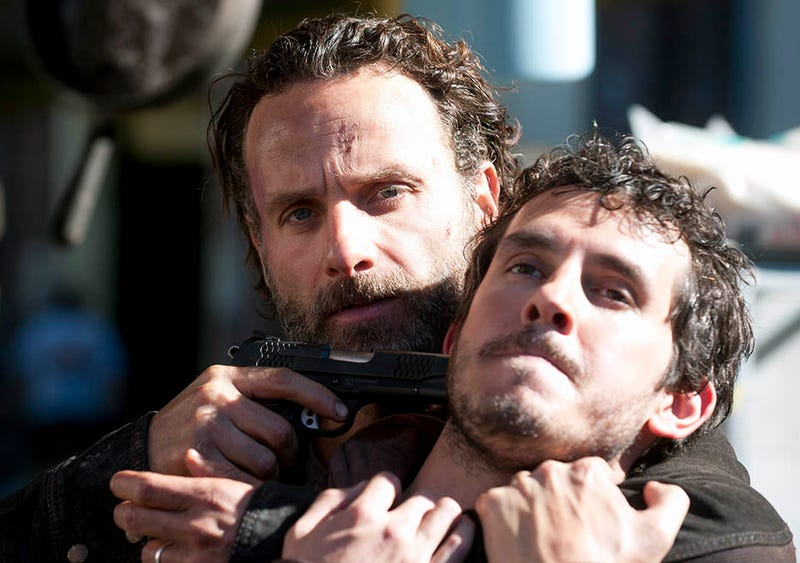 Illustration for article titled The Walking Dead Finale Was Brutal, Shocking And Heartbreaking