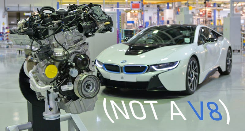 If You Wanted A Bmw I8 With A 4 4 Liter V8 You Got It