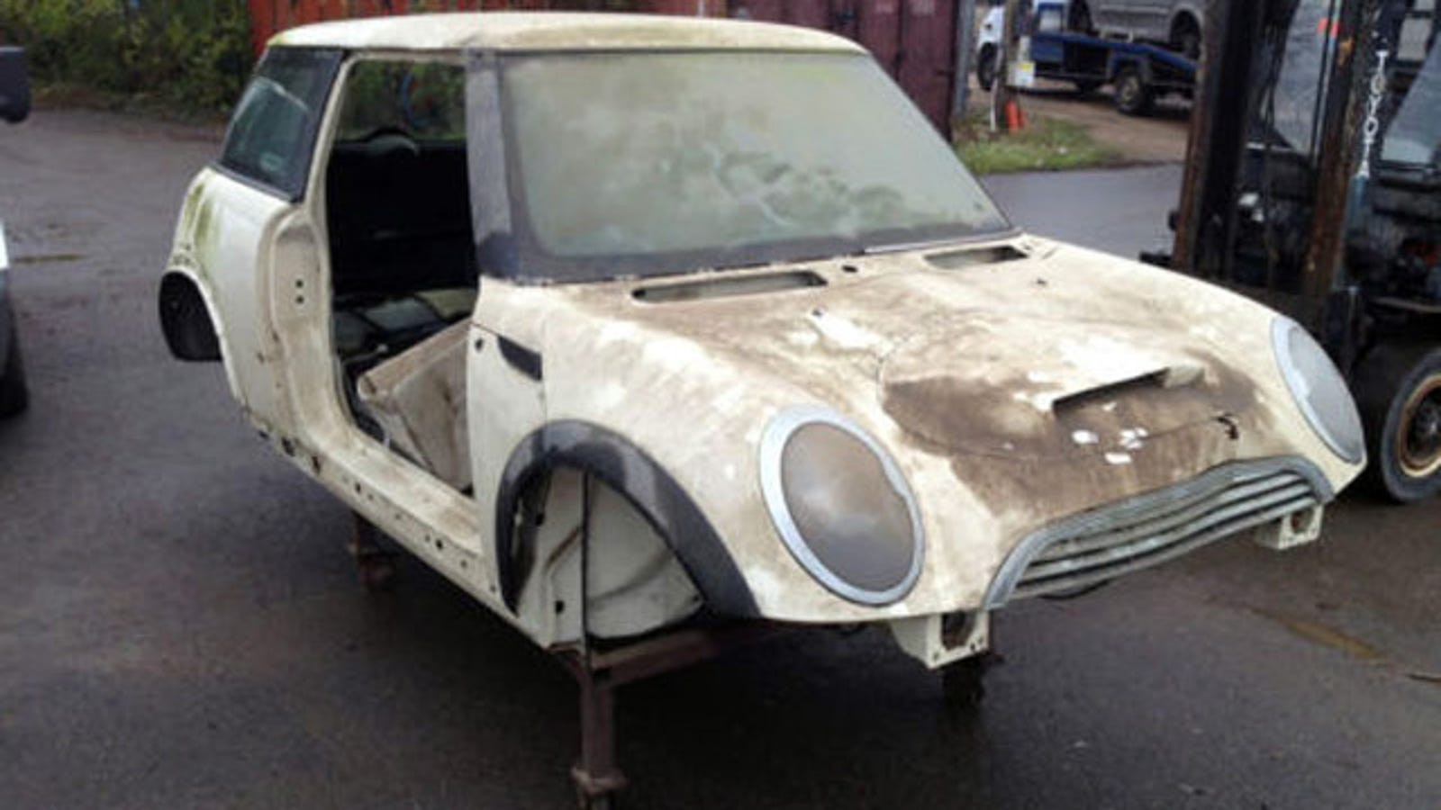 Unique Bmw Mini Prototype Found On Ebay Proves Rover Origins
