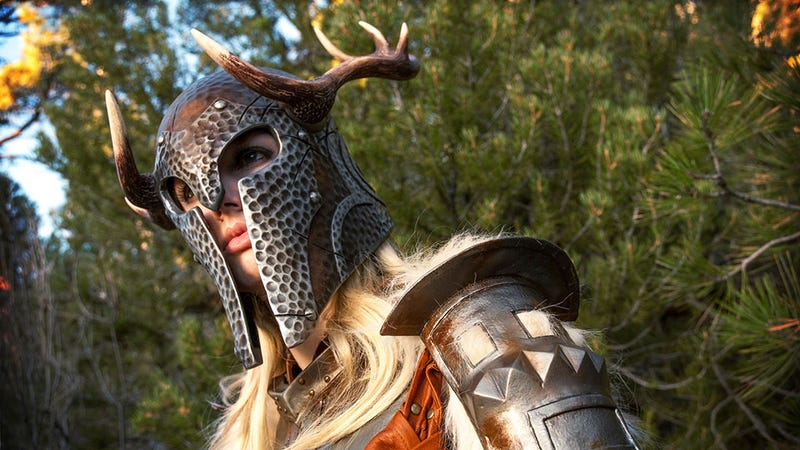 Illustration for article titled Oh Boy, This Skyrim Cosplay is Terrific