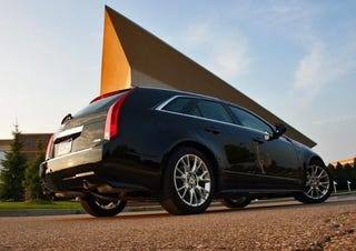 Illustration for article titled 2010 Cadillac CTS Sport Wagon: First Drive