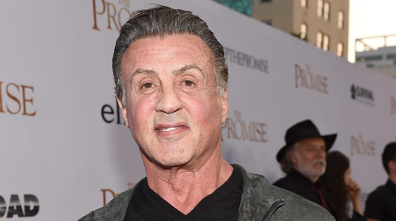 Illustration for article titled Sylvester Stallone is still trying to shoot up hype for a new Rambo movie