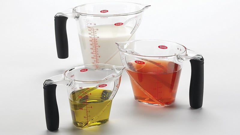 OXO Good Grips Measuring Cups, Set of 3, $16