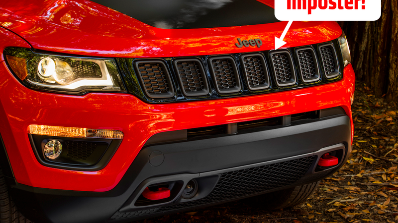 The Upper Grille On The New Jeep Compass Is Totally Fake