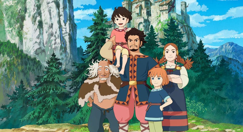 Illustration for article titled Studio Ghibli's TV Series Is Coming To Amazon